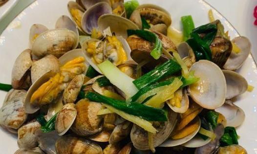 姜葱蛤蜊很好吃