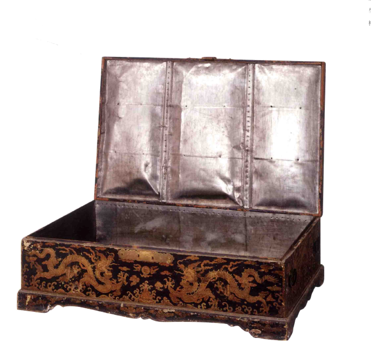 故宫文化经典之彩绘家具,皇帝的藏宝箱,箱子就是宝贝