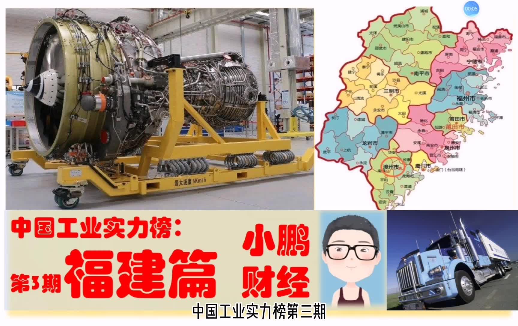 中国机械工业实力看福建,福州厦门泉州宁德漳州南平等超级制造业
