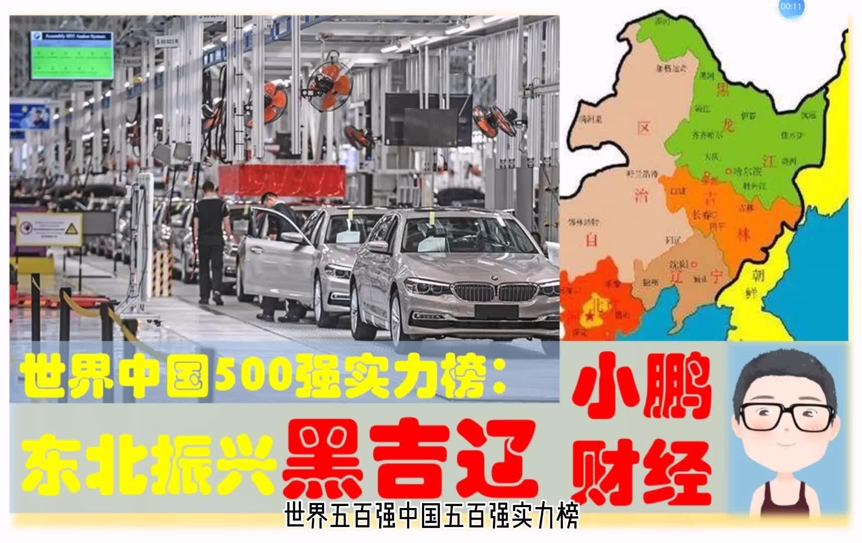东北振兴火车头本省世界中国500强多牛,黑吉辽的超级制造业企业