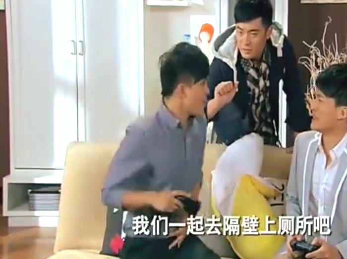 爆笑片段胡一菲发现曾小贤偷偷去看维多利亚的秘密