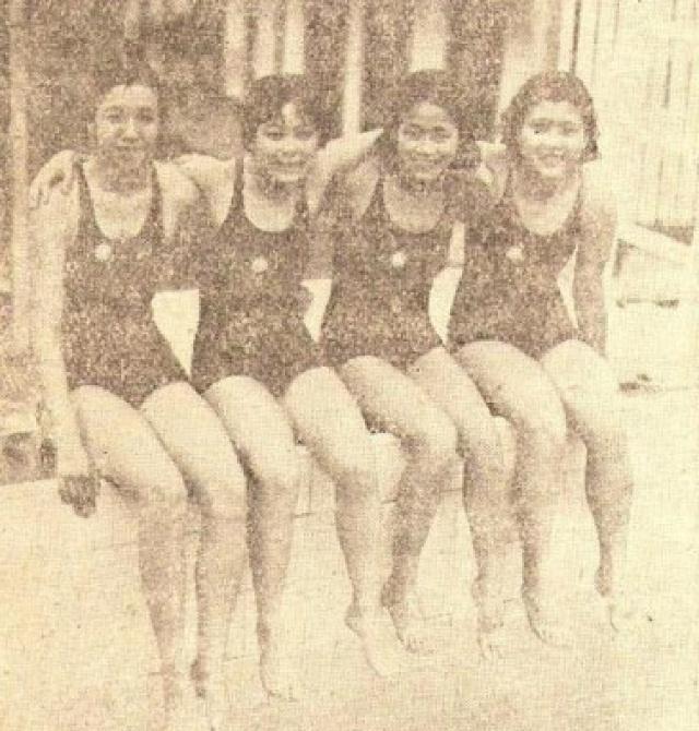 """盘点:民国四大游泳女将,貌美如花,第一名""""美人鱼""""有五个第一"""