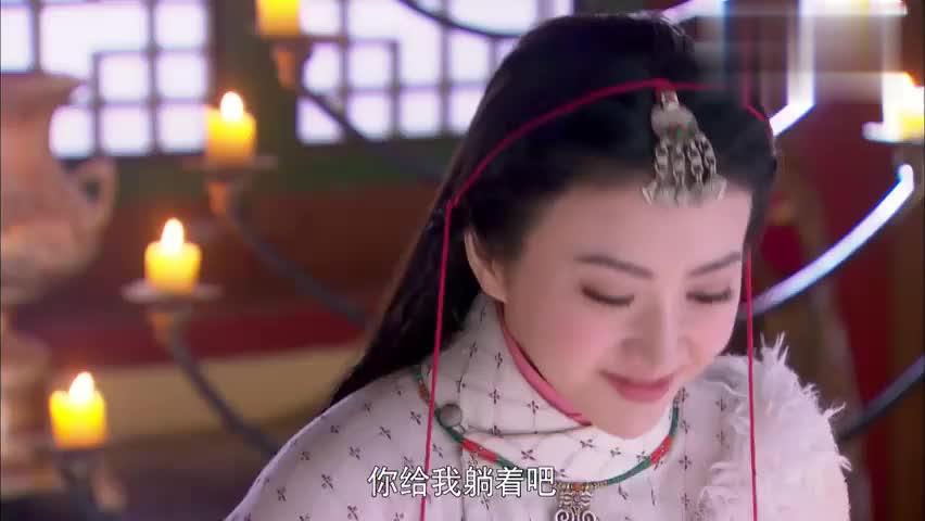 """影视:景甜太能演,竟将王爷埋沙治病,反而""""雪姨""""笑哭了众人!"""