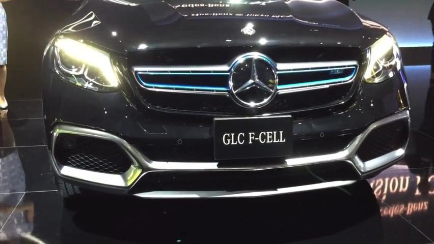 抢占氢能源先机?奔驰GLCF-CELL又亮相东京车展