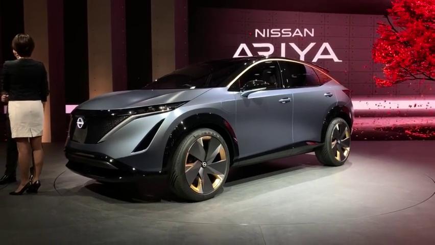日产纯电动概念车ARIYA正式亮相东京车展,楼兰电动版的既视感