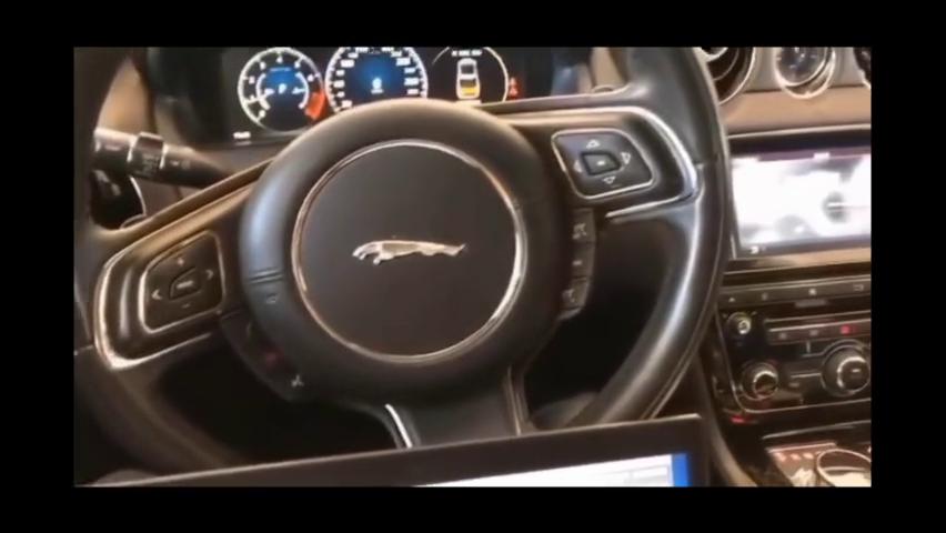 捷豹XFL汽车音响无损改装升级8音度H812s音效处理器