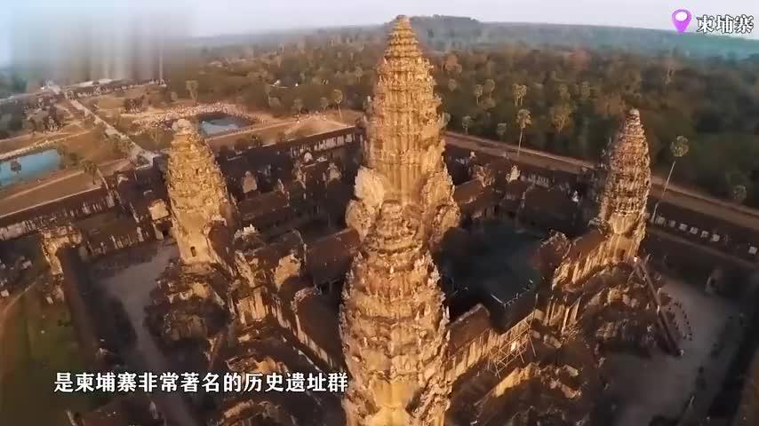 柬埔寨的历史遗迹,古印度的风格的寺庙,这里的香火异常旺盛
