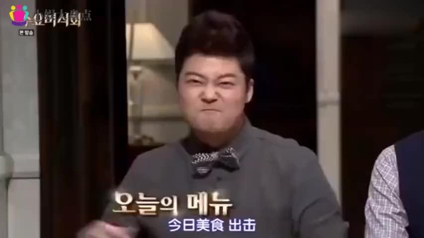 被中华美食征服的韩国明星,节目中大呼:只有中华料理是艺术品!
