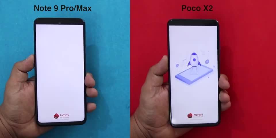 红米Note 9 Pro与小米Poco X2性能对比测试
