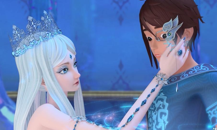 叶罗丽:为何冰公主与新仙子面容相同?是官方偷懒,还是隐藏剧情