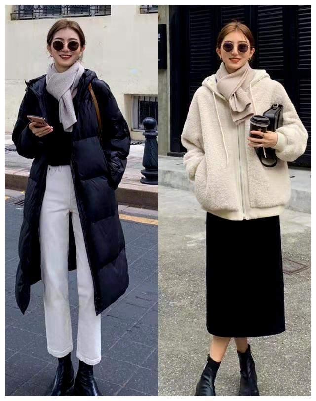 基础款想要穿出时髦范,学韩国博主简约大方的穿搭,照着穿都很美