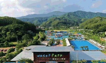 秋季不去玩水还要等到冬天咩!惠州莲湖水上乐园有的浪咯