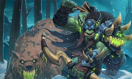 炉石传说:娱乐卡组分享,兽王猎