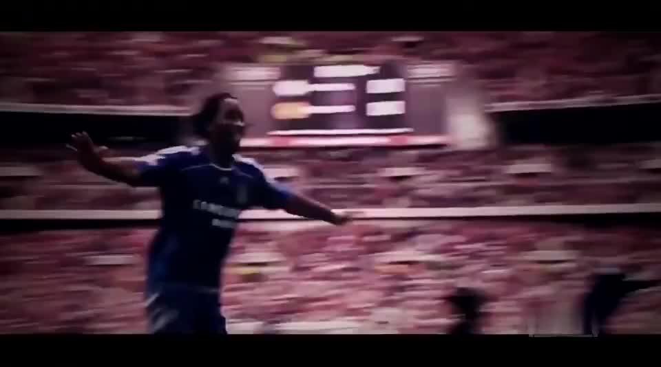 暴力足球美学的代表,巅峰足坛魔兽德罗巴是所有豪门的噩梦