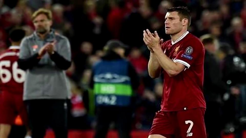 利物浦5比2大胜罗马!米尔纳力压内马尔、鲁尼成助攻王