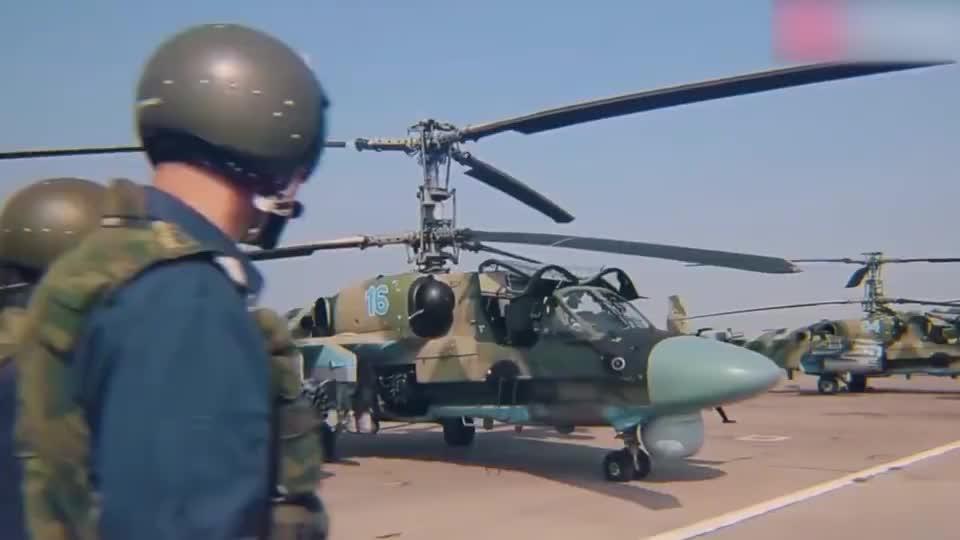 外形酷炫实拍卡莫夫Ka-52多用途武装直升机