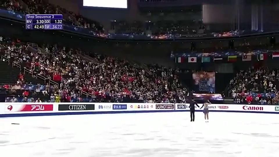 花样滑冰结束后,韩聪激动的亲吻隋文静胸部!这动作也太过分了吧