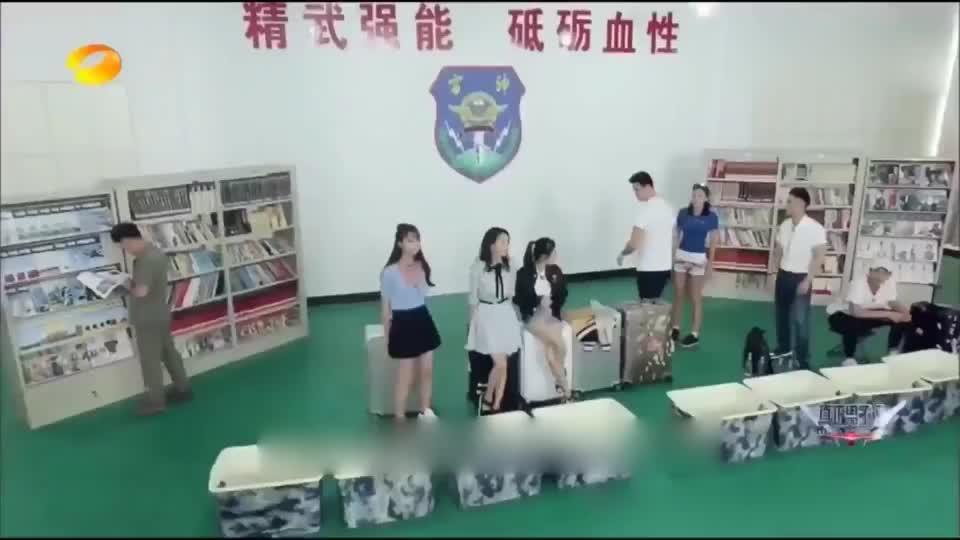 男子汉:刚入部队没尊守纪律,杨幂佟丽娅被批评,孙杨黄子韬被罚