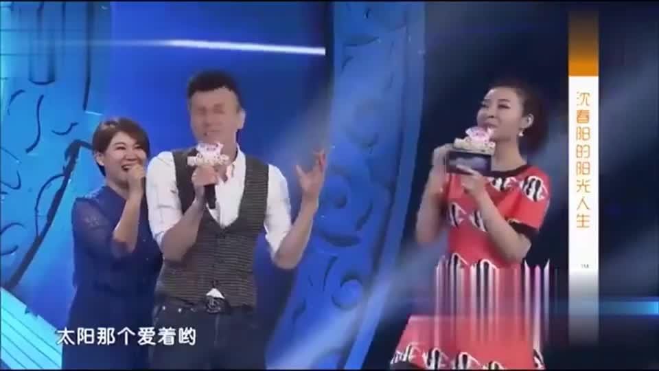 沈春阳和主持人唱双簧!主持人瞬间戏精上身,瞬间把观众逗笑了!