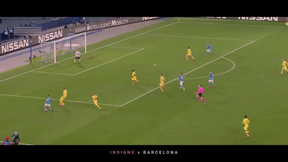 足球场上的缺憾之美,精彩的过人射门,只可惜离进球差一点