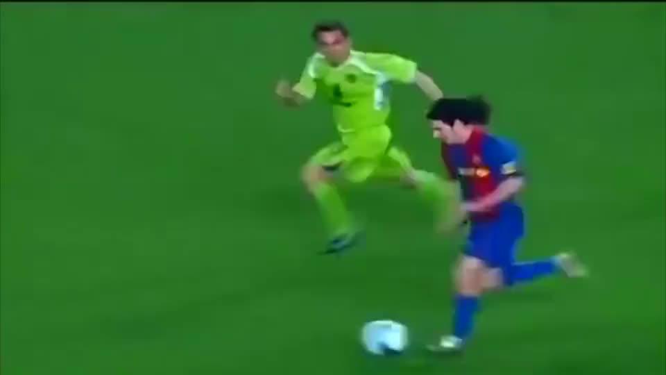 队史最佳再度欣赏 梅西连过五人梦幻进球