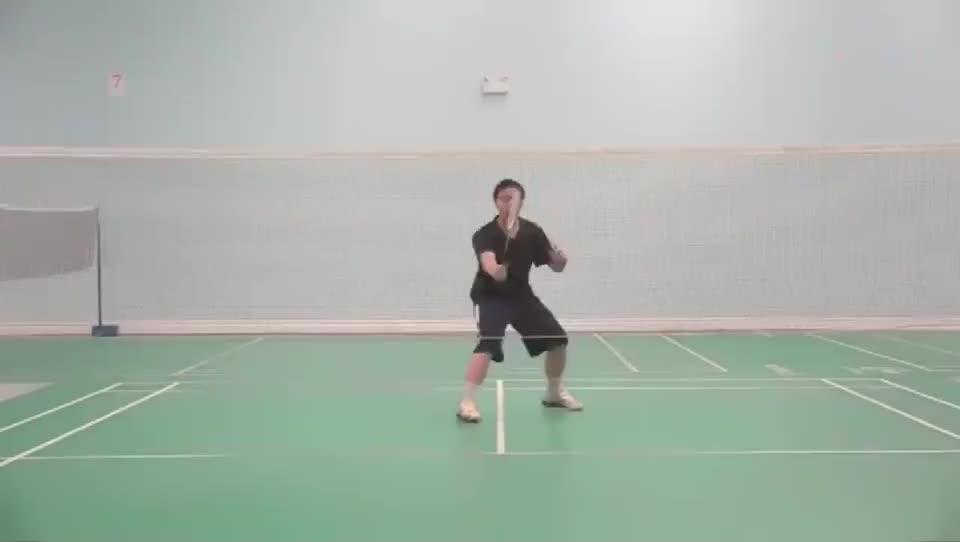 羽毛球击球时, 杀球, 吊球, 平高球, 延迟打出, 会更具有迷惑性!