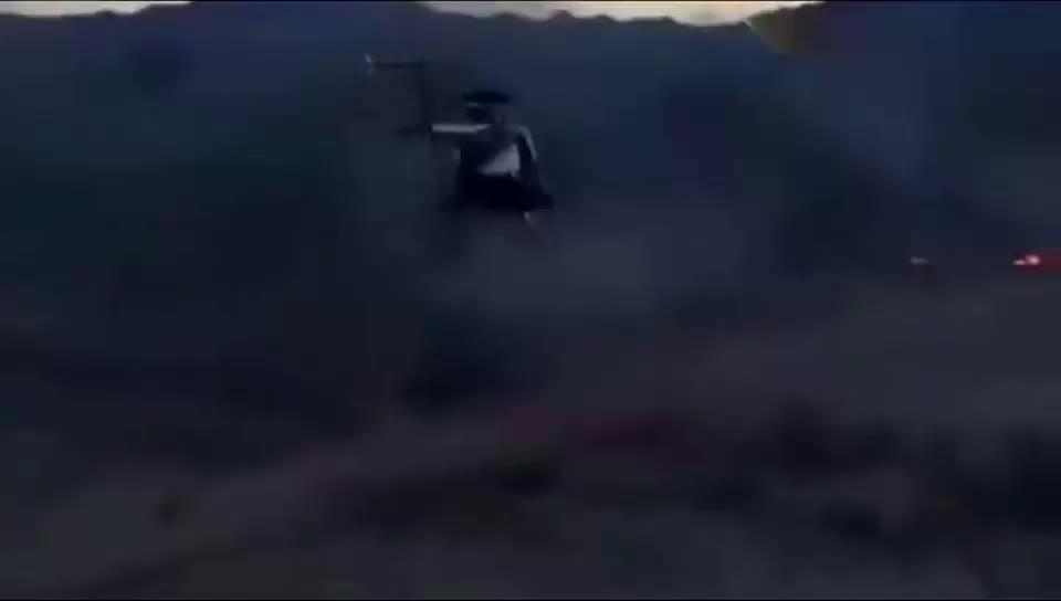 步兵们的噩梦,地面的收割机,这武装直升机火力太吓人