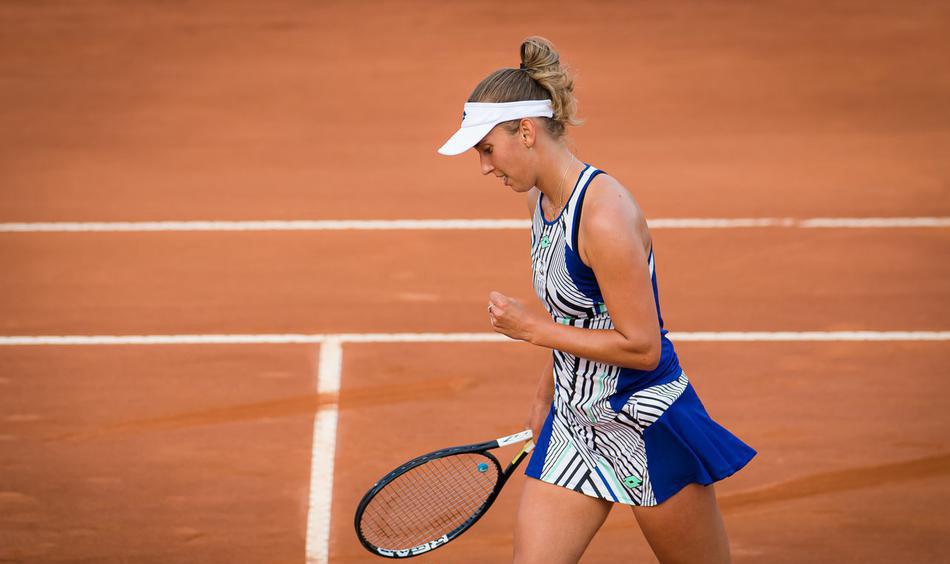 2020年WTA意大利电信杯网球赛女单首轮,梅尔滕斯2-0淘汰谢淑薇