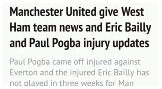 足总杯曼联vs西汉姆联,博格巴肌肉受伤缺席数周拜利有望复出