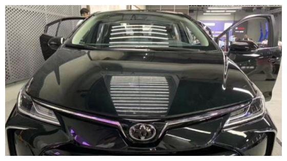 全新丰田卡罗拉现身,黑车身比较大气,标配8气囊,换装四轮独悬