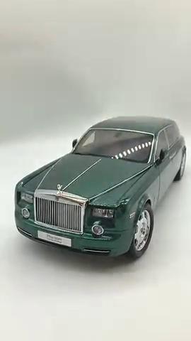 劳斯莱斯汽车模型,刚开始以为没什么,当打开车门的那一刻看傻了