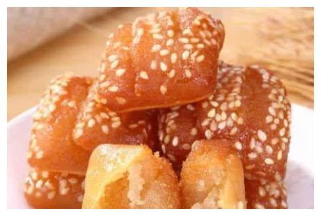 苏式点心蜜三刀,教你详细配方和做法,香甜酥脆充满芝麻香味儿
