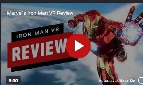 《漫威钢铁侠VR》IGN7分:空战有趣、剧情无聊