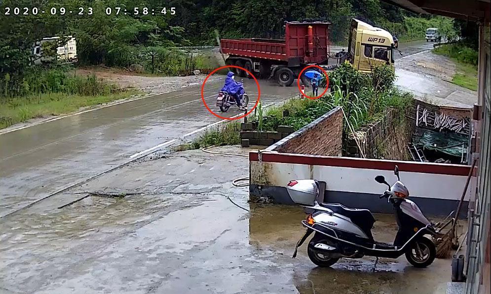 江西省发生一起交通事故,位于赣州市,现场画面让人揪心!