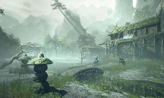 """《怪物猎人:崛起》新场景""""废神社""""概念图公布"""