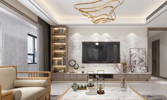 现代风格四居室装修案例,200平米的房子装修多少钱?