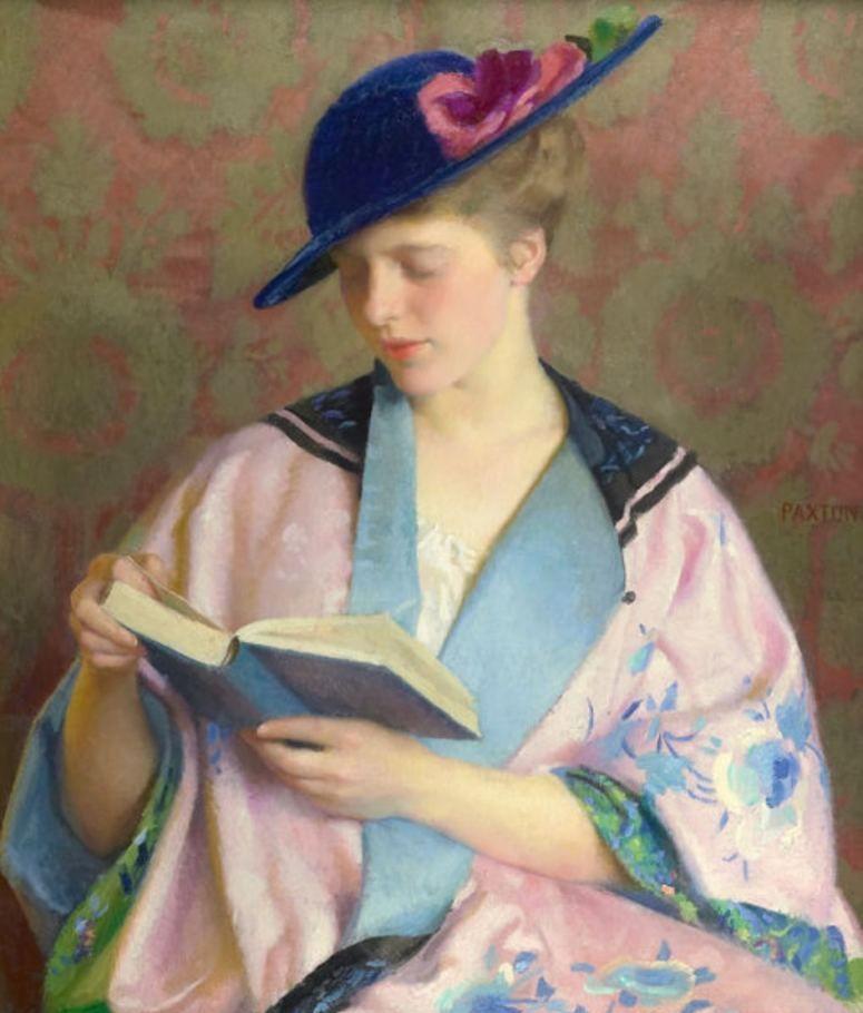 印象派画家威廉·麦格雷戈·帕克斯顿作品欣赏
