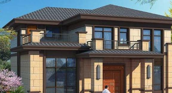 多露台设计农村别墅,这样的户型才是梦寐以求的家!