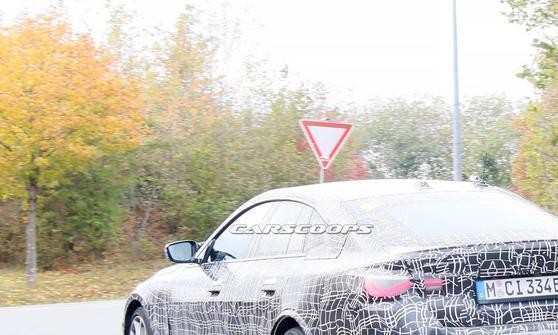 纯电动车型搭配M运动套件,宝马i4 M测试谍照曝光