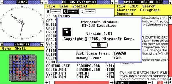 Windows的历史,大部分人用过的不到3个