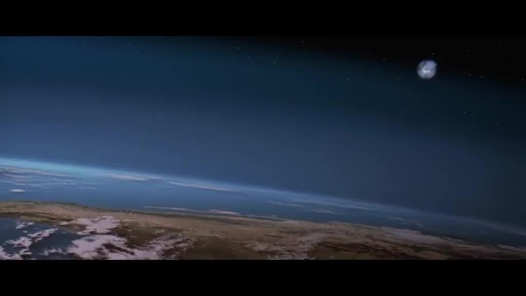 小彗星撞向大西洋,引发的海啸直接淹没数个城市