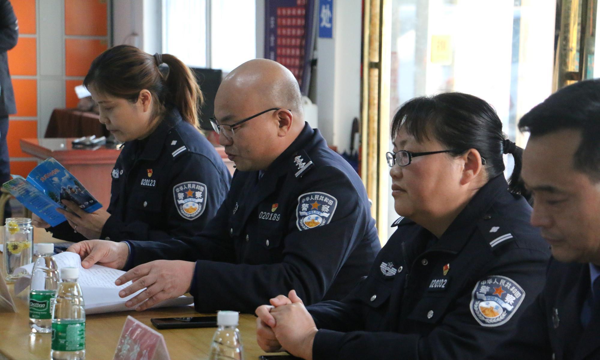尉氏县公安局交警大队走进永安驾校扎实开展交通安全工作