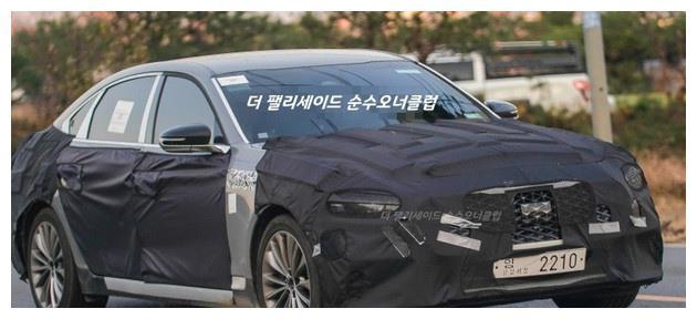 起亚全新旗舰级轿车K9路试谍照 提供V6./V8可选