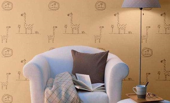 家里装修别贴墙纸了,如今流行这种水墙纸,实用漂亮还能擦洗