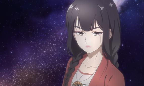 动画中要是有红衣加两个麻花辫的组合,估计不是美女就是大神