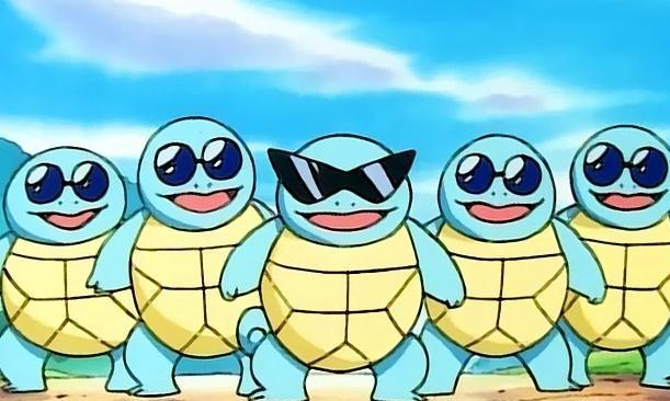 《宝可梦》杰尼龟是如何从一代萌物,慢慢变成一个铁憨憨的?