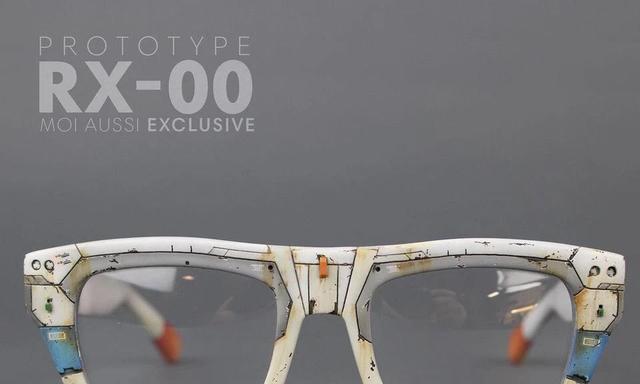 阿姆罗专用,78高达主题旧化涂装眼镜框
