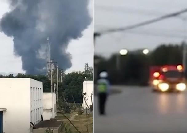安徽合肥一工厂反应炉泄漏酿大火,造成2死3伤