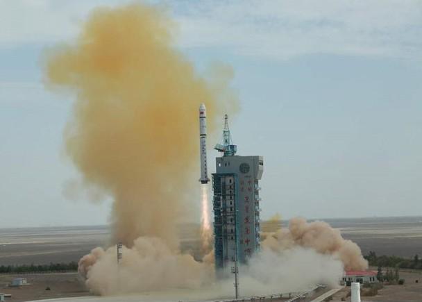 搭载高分九号卫星,长征二号丁运载火箭发射升空