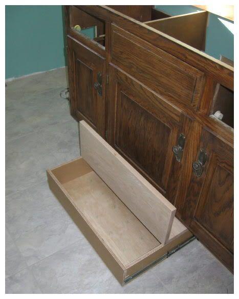 抽屉内部多加个盖,很怪?结果看完我家餐柜,个个都想安排上了!